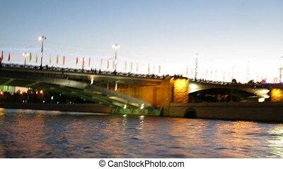 Kremlin at evening - MOSCOW - SEPTEMBER 11: Kremlin at...