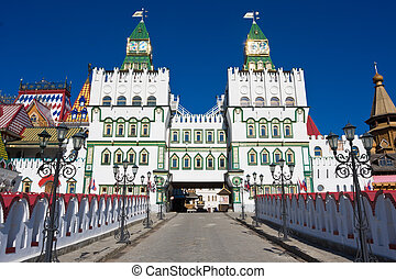 Kremlin in Izmailovo - Beautiful view of kremlin in ...