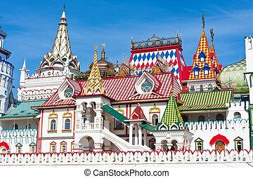 Kremlin in Izmailovo - Beautiful view of kremlin in ...