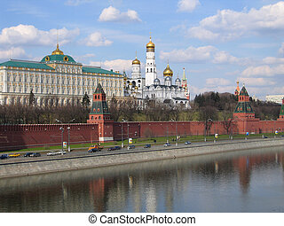 Kremlin in Moscow. Russia.