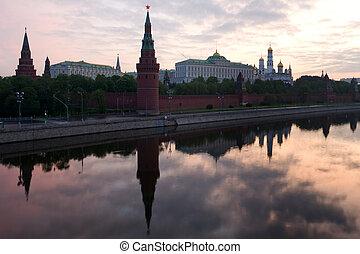 Kremlin in the morning