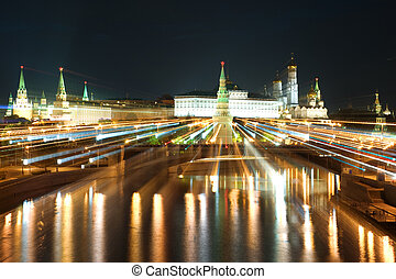 Kremlin in the Moscow