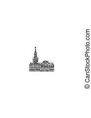 kremlin, moskou, toren, spasskaya
