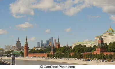 Kremlin on a background of the Moscow-City 1