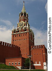 Kremlin on Red Square in Moscow