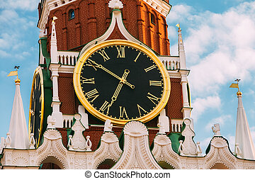 Kremlin, red square in Moscow, Russia