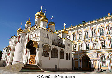 kremlin - The Cathedral of the Annunciation in Kremlin
