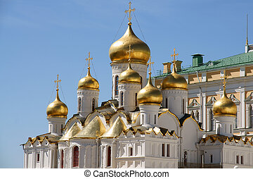 Kremlin, the Annunciation cathedral