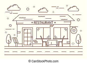kreska, restauracja, budowa.
