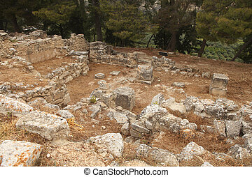 kreta, ausgrabungen
