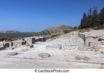 kreta, phaestos, palast