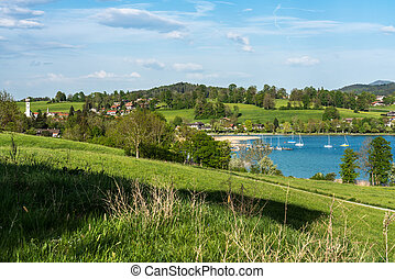 Kreuth at the Tegernsee lake in Bavaria, Germany