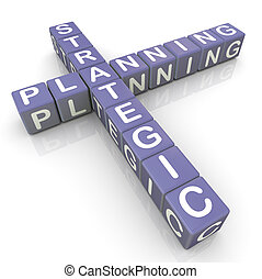 kreuzworträtsel, planung, srategic