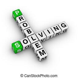 kreuzworträtsel, problem, lösen