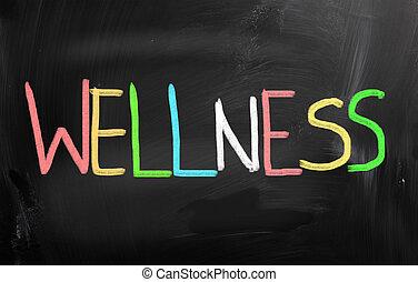 kridt, sort vægtavle, begreb, sundhed, handwritten