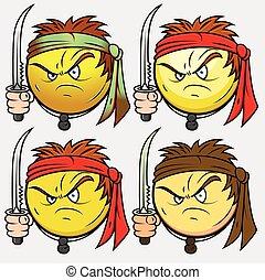 krigare, kung fu, shaolin, emoji