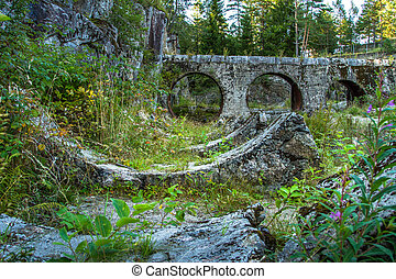 Kringsjaa Kraftverk, old hydroelectric power ruins in ...