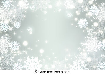 kristal, sneeuw