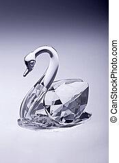 kristal, zwaan