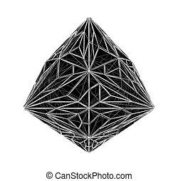 kristall, diamant