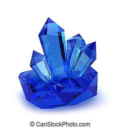 kristall, steine