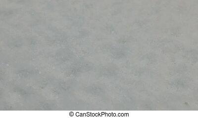 kristallen, close-up, salt., omwenteling, achtergrond