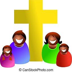 kristen, familie