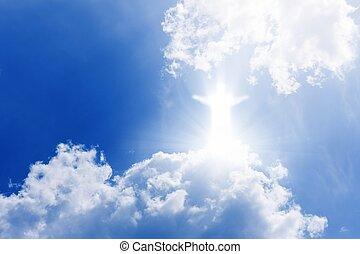 krisztus, alatt, ég