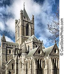 krisztus, templom, dublin