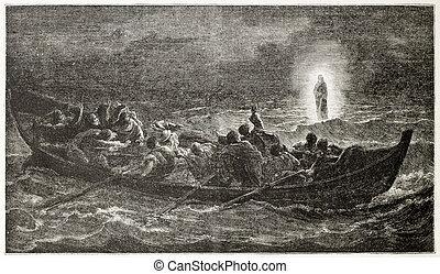 krisztus, tenger