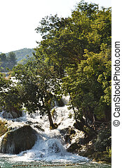 krka, 滝