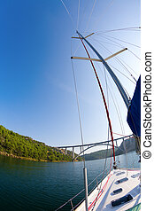krka, río, navegación