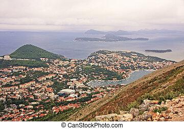 kroatien, dubrovnik, ansicht