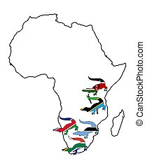 krokodil, afrikas