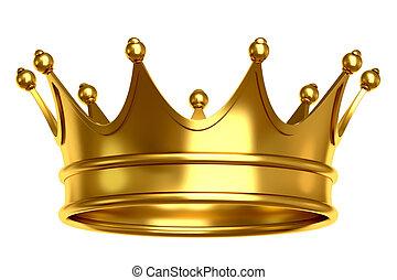 krona, guld
