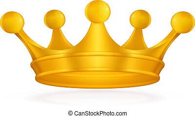 krona, vektor