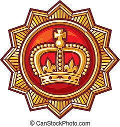 krone, abzeichen