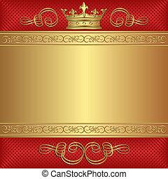 krone, hintergrund