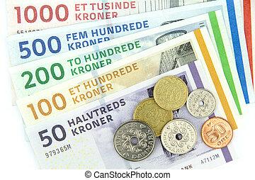 ), kroner danois, dkk, (