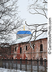kronstadt, Inverno, vista