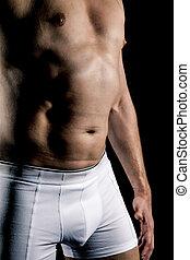 krop, midte ældes, mand