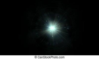kropkuje, laser, promienie, universe., &