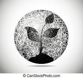 kruh, abstraktní, kouzelnictví