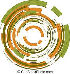 kruh, grafické pozadí