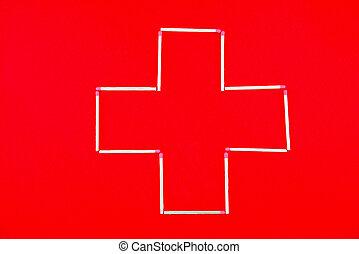 kruis, ambulance