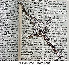 kruis, en, bijbel