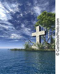 kruis, heilig