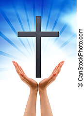 kruis, holdingshand