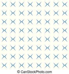 kruis, model, blauwe , witte achtergrond