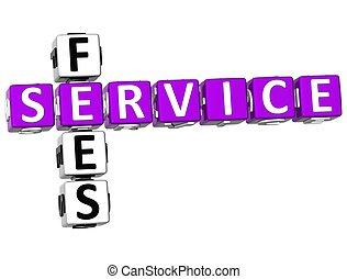 kruiswoordraadsel, 3d, dienst, prijzen